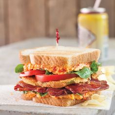 Fried Green Tomato and Pimiento Cheese BLT  Save Recipe Print Yields: Makes 1 serving Ingredients 2 slices white bread, toasted ¼ to ½ cup Pimiento Cheese (recipe follows) 2 leaves green leaf lettuce 5 slices cooked bacon 2 to 3 Fried Green Tomatoes (recipe follows) 2 to 3 slices fresh tomato Instructions Spread 1 …