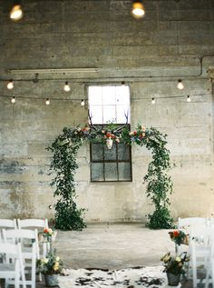 Chic barn ceremony | Courtney Leigh