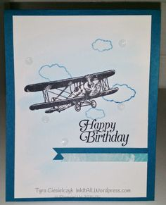 Stampin' Up Into the Sky: Happy Birthday
