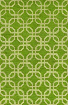 Tess 5 x 7.6 Area Rug : Lime Green at Rotmans in Worcester MA