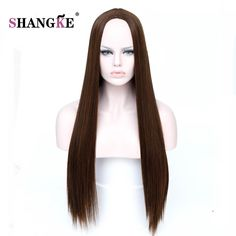 Ingenious Deyngs Long Straight Black Wigs With Bangs For Black Women Naturally Synthetic Heat Resistant Noce Lace Hair With A Free Cap Products Hot Sale Synthetic None-lacewigs