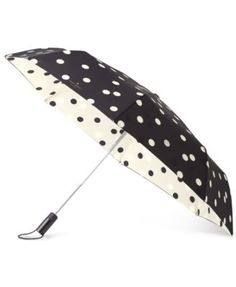 kate spade new york Deco Dot Travel Umbrella