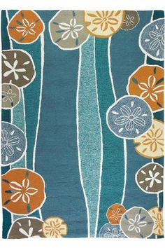 Seychelles Area Rug - Outdoor Rugs - Coastal Rugs - Beachy Rugs - Hand-hooked Rugs - Synthetic Rugs | HomeDecorators.com