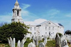 St George's Church, Portland, Dorset England:  Vast and solitary, St George's is one of  the most magnificent 18th-century church in Dorset. It rises from the rocky, treeless and dramatic peninsula of Portland and is the masterwork of a local mason named Thomas Gilbert who supplied the Portland stone used to build St Paul''s Cathedral.