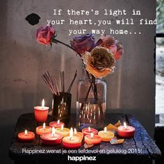 If there's  is light................Happy New Year.