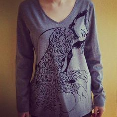 T-shirt manica lunga Ghirigoro Made in Italy