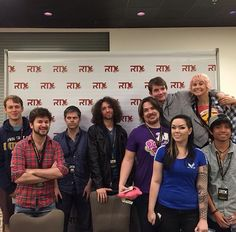 The Game Grumps at RTX: Barry, Brian, Dan, Arin, Ross, Holly, Suzy and Kevin