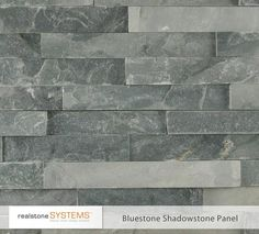 Realstone Bluestone Shadowstone - accessories and decor - Realstone Systems