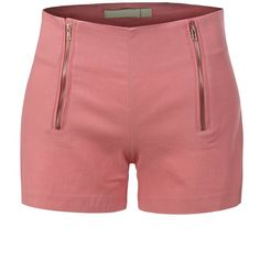 LE3NO Womens Lightweight High Waisted Nautical Sailor Shorts ($8.05) ❤ liked on Polyvore