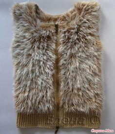 Жилет на весну Golf Fashion, Diy Fashion, Baby Knitting Patterns, Crochet Patterns, Black White Pattern, Bead Jewellery, Easy Knitting, Kids Wear, Knit Cardigan