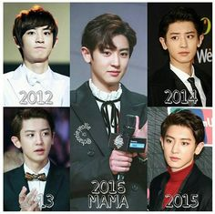 Chanyeol MAMA collections // is he getting younger every year? The Curious Case of Park Chanyeol