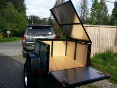 Java's Mini Trailer - Page 6 - Expedition Portal Camping Trailer Diy, Kayak Trailer, Jeep Camping, Off Road Trailer, Trailer Plans, Trailer Build, Motorcycle Camping, Hunting Trailer, Camping Hacks