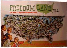 The land in the Bronx where you will now find Co-op city, was once a stupendous amusement park in the style of Disneyland.  FREEDOMLAND!