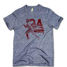 Bryce Harper Officially Licensed MLBPA Washington T-Shirt Unisex S-2XL Bryce Harper Grunge R