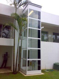 Barato vidro de turismo ao ar livre casa elevador/elevador residencial