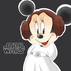 ♡ Minnie Mouse ♡ ⭐Star Wars⭐