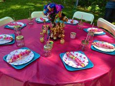 Giraffe Garden Party for my grand baby's 1st Birthday!
