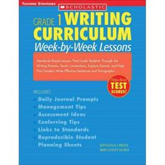 first grade writing curriculum - Google Search