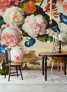 Eijffinger brings the Dutch Golden Age to life in the new floral Masterpiece…