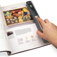 Handheld Scanner from Hammacher Schlemmer