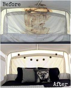Pop Up Camper Canvas