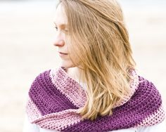 crocheted mobius cowl - would be great for using us partial balls of worsted  (pinning this bc it seems craft mag hasn't added it to ravelry yet WHAT IS UP WITH THAT)