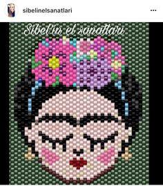 Ley Peyote Patterns, Beading Patterns, Crochet Patterns, Snowman Cross Stitch Pattern, Cross Stitch Patterns, Pixel Crochet, Iron Beads, Beaded Jewelry Patterns, Tapestry Crochet