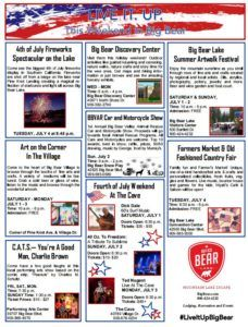 What's Going on this July 4th Weekend in Big Bear