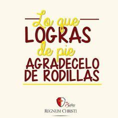Agradecimiento. Campaña Regnum Christi