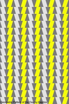 Geometric pattern of the day by Kapitza