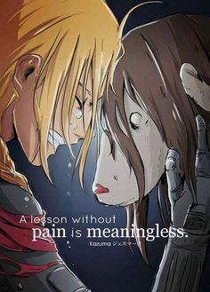 Full metal alchemist  I hope u know y I'm crying guys