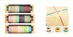 Colored Masking Tape — ACCESSORIES -- Better Living Through Design $2.29 per roll