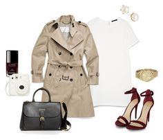 """""""Untitled #339"""" by angela-reiss on Polyvore featuring Chanel, MANGO, Coach, Burberry, Michael Kors and Lulu Frost"""