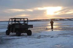 One of the keys to successful ice fishing is keeping warm. Today, that's easy to do.