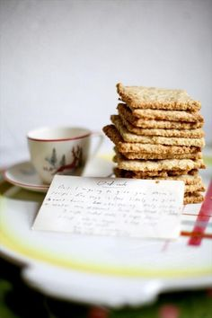 An old family recipe for oatcakes from Nova Scotia, Canada