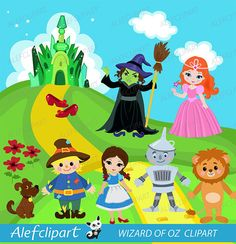 Wizard of Oz clipart commercial use Oz dorothy by Alefclipart