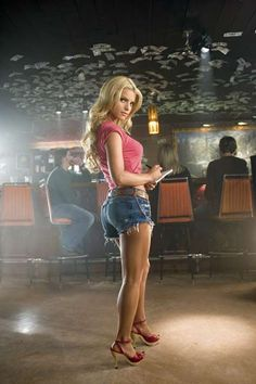 Jessica Simpson.  I'd kill for her body in this movie