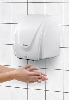 Asciugamani elettrico ad aria calda a muro 2100W - Bartscher 850000