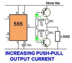 pwm modified sine wave inverter circuit using ic tl494 555 rh pinterest com