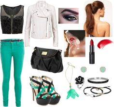 """""""The Bold and The Mint"""" by tran-mik on Polyvore"""