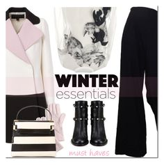 Winter Essentials by mada-malureanu on Polyvore featuring Ioana Ciolacu, Giambattista Valli, The Row, Valentino, J.Crew, women's clothing, women's fashion, women, female and woman