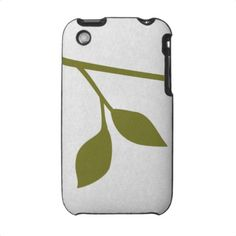 Twig and Leaf iPhone 3 Covers