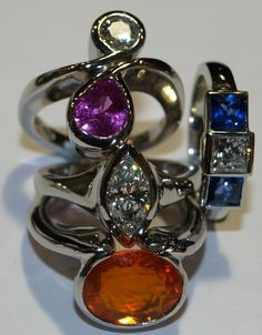 Beautiful handmade designer Platinum jewellery