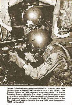 "Inside a AC-119k ""Stinger""/""Shadow""."