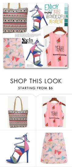 """""""Shein"""" by edy321 ❤ liked on Polyvore featuring Anja"""