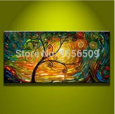 special offer - good -TOP best art oil painting--hand painted - MODERN ABSTRACT art 48 inches-free shipping cost