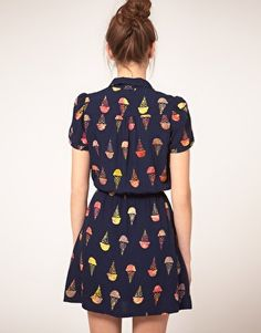 Ok, how cute is this ice cream cone dress for summer?