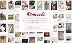 DECORATE YOUR DREAM WEDDING – #nkukuwedding Pinterest competition.