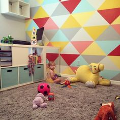WALL - Margot's Painted Playroom — My Room - On Apartment Therapy