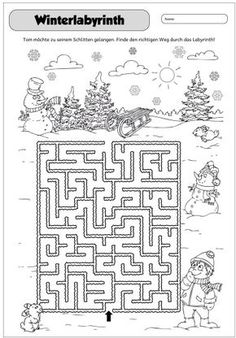 easy help frosty find his hat maze mazes maze preschool christmas maze. Black Bedroom Furniture Sets. Home Design Ideas